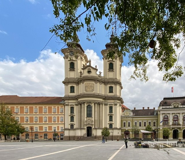 Church of Anthony of Padua in Eger, Hungary