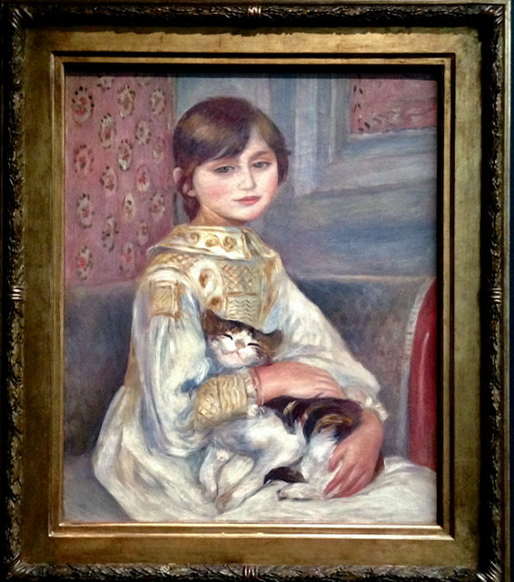 Portrait of Julie Manet by Pierre August Renoir