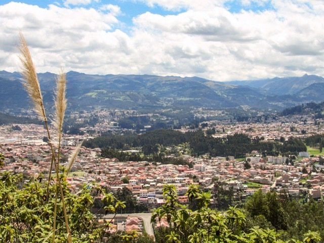 Overview of Cuenca from Amaru Bioparque