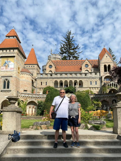 Couple at Bory Castle