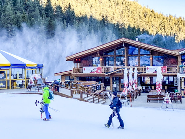 One of the Bansko ski chalets