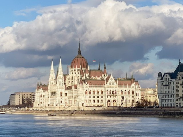 The Hungarian Parliament Building as seen from Buda