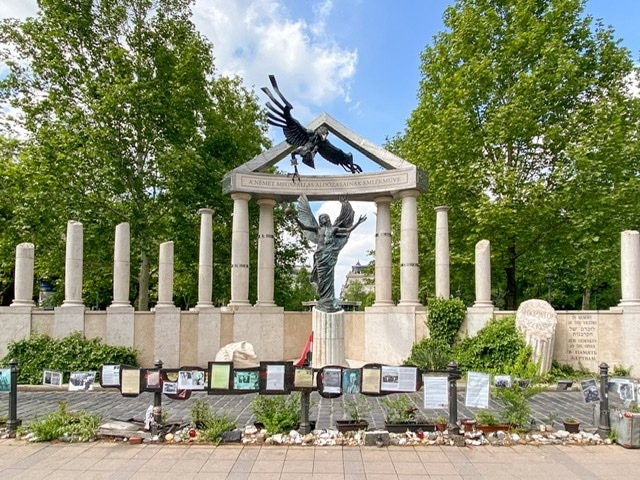 The Memorial for Victims of the German Occupation in Budapest