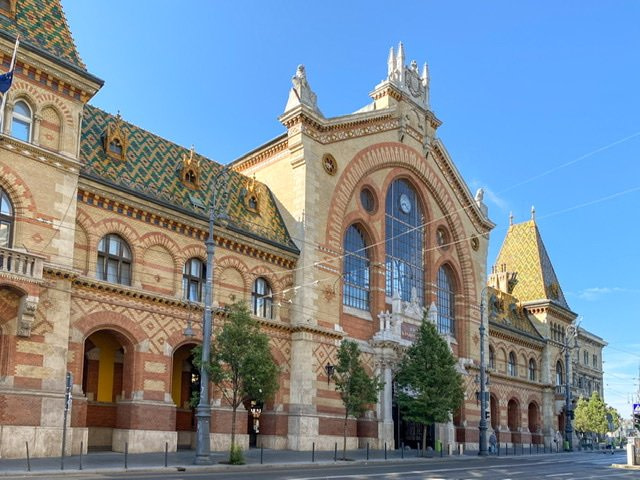 The Central Market Hall in Budapest