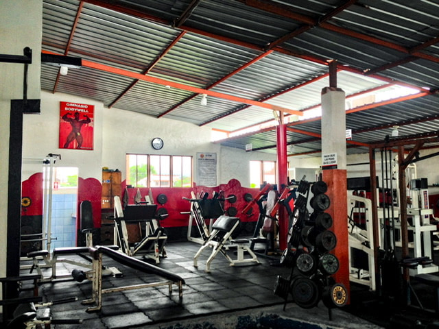 A gym in Puerto Ayora
