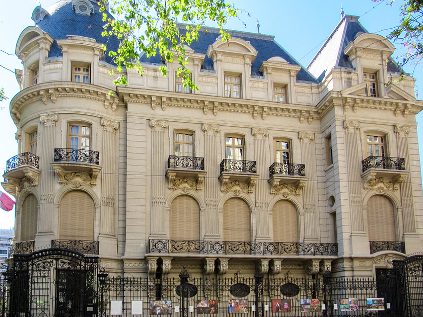 The French Embassy in Buenos Aires