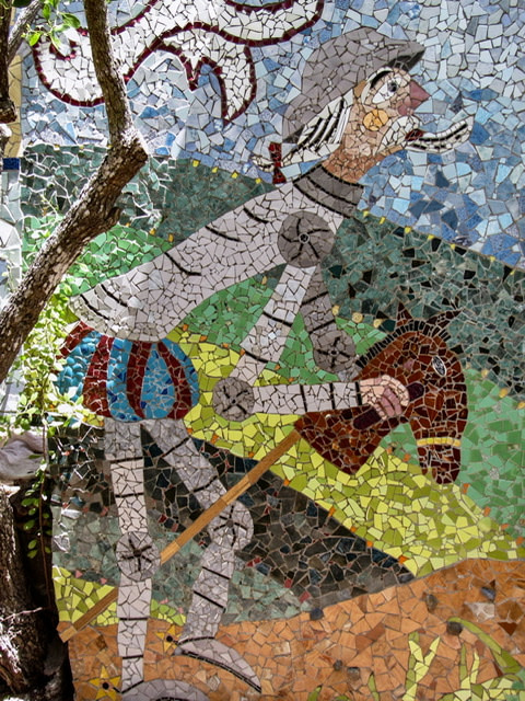 Mosaic of Don Quixote