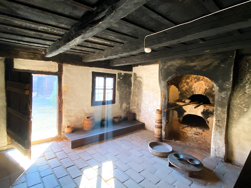 Kitchen in an eighteenth century home