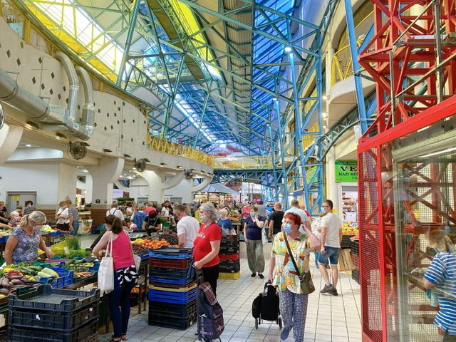 Budapest's Quirky and Colorful Lehel Market