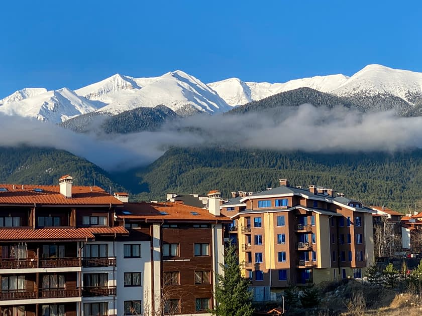 Clouds in the Pirin Mountains